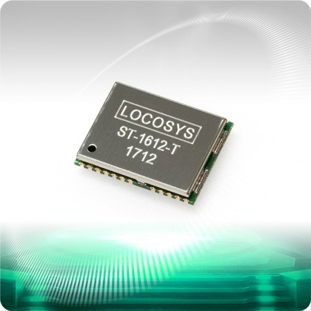 ST-1612-T Timing Module - LOCOSYS ST-1612-T module can simultaneously acquire and track multiple satellite constellations that include GPS, GLONASS.