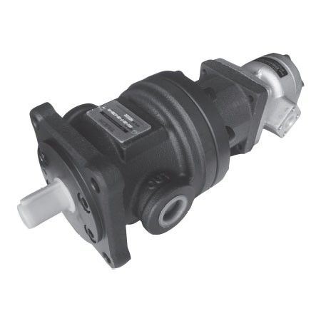 Fixed Displacement High-Low Pressure Compound Pump - 50T+GPEON