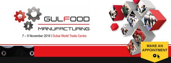 2016 Gulfood Manufacturing in Dubai
