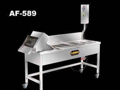 Conveyer Fryer - AF-589. ANKO Conveyer Fry Machine