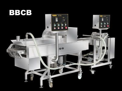 Automatic Batter And Crumb Breading Production Line - BBCB. ANKO Automatic Batter And Crumb Breading Production Line