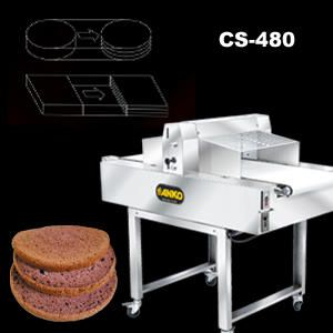 Automatic Horizontal Cake Slicer - CS-480. ANKO Automatic Horizontal Cake Slicer