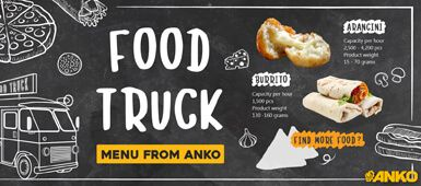 How to use ANKO's food machine to run a food truck
