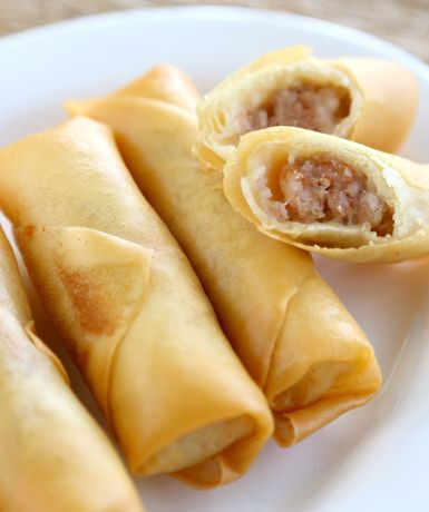 How to use ANKO's food machine to make Spring Roll