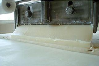 Butter extrusion machine
