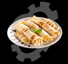 What kind of crepe dishes do you want to offer in the food market?