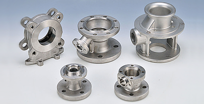 Ball Valves -  lost wax investment casting