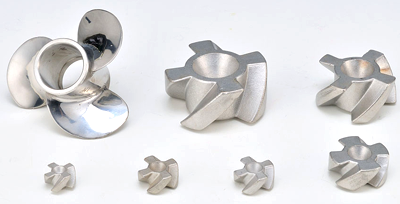 Impeller -  lost wax investment casting