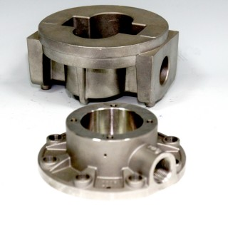 Manifold & Cap - Lost Wax Casting - Precision Lost Wax Investment Casting for Manifold & Cap parts