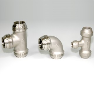 Pipe Fitting - Lost Wax Casting - Precision Lost Wax Investment Casting for Pipe Fitting parts