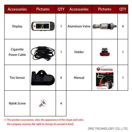 W410-A (Aluminum Valve) Accessories