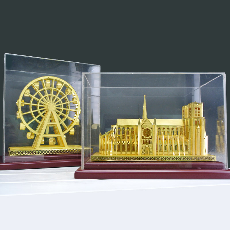 3D Miniature Brass Models