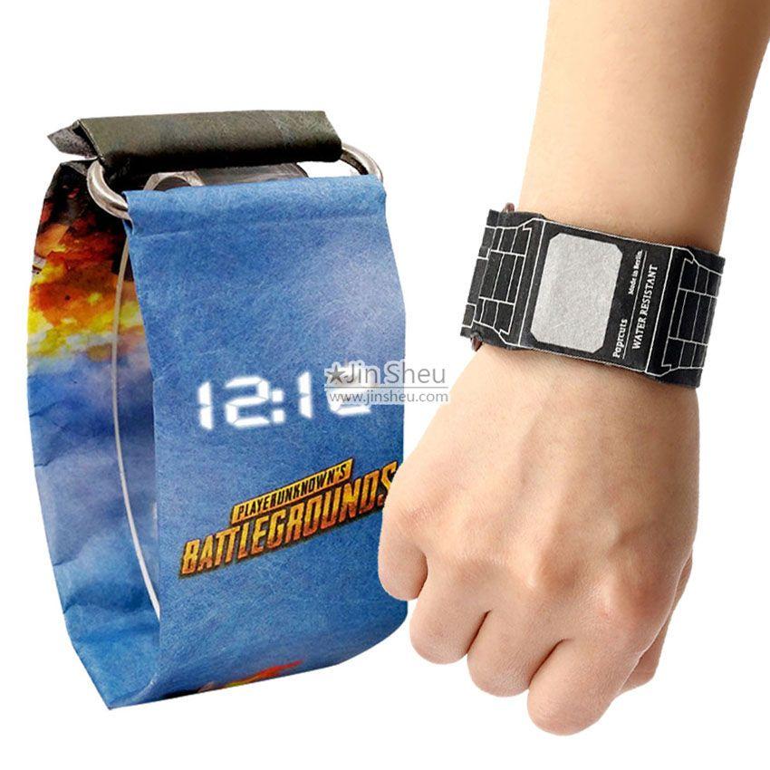 Custom made paper watch