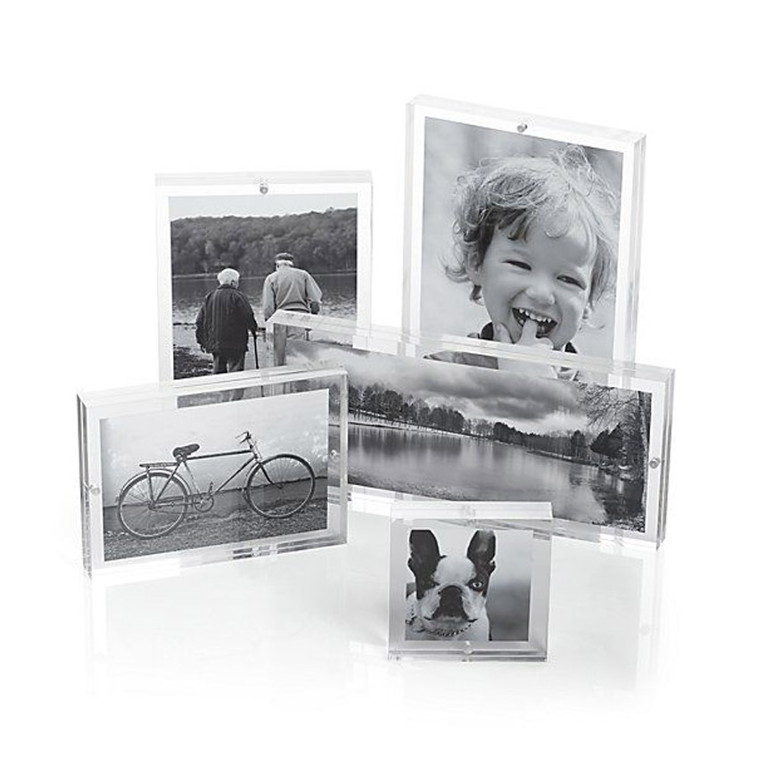 Clear Acrylic Blocks and Photo Frames