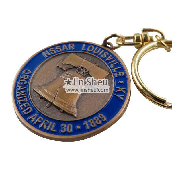 Custom Made Metal Keychains