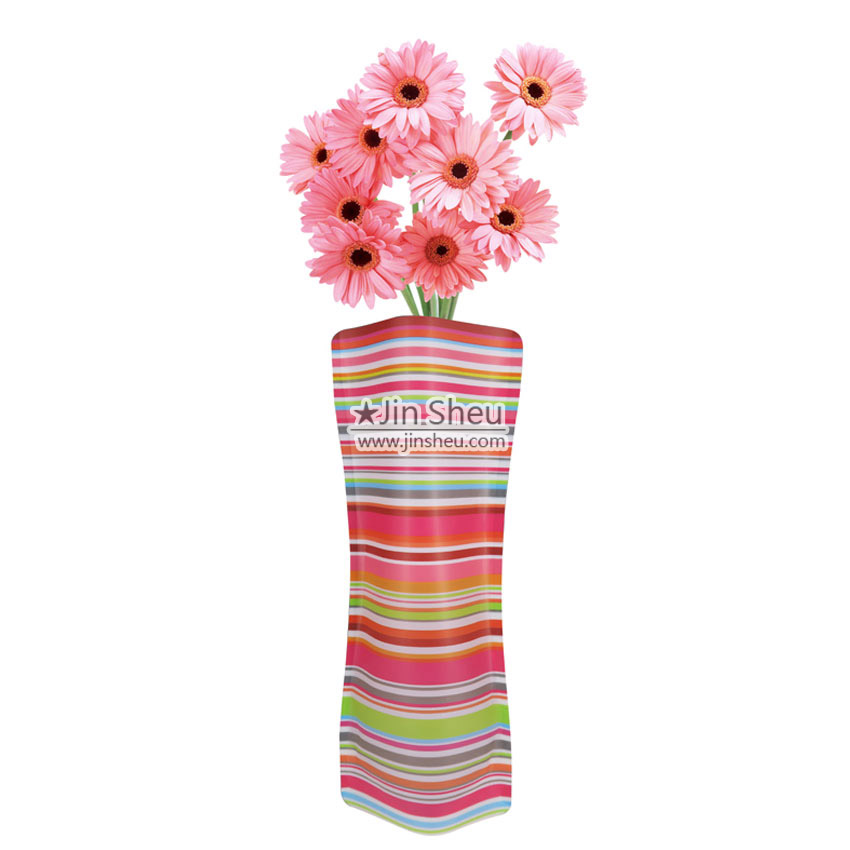 Foldable Plastic Flower Vases Gift And Premiums Items Manufacturer
