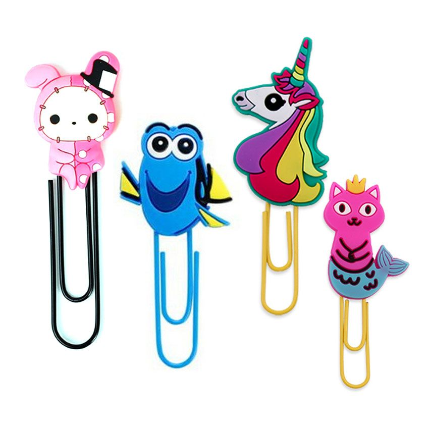Customized bookmarks and paper clips, perfect for schools & offices everywhere.