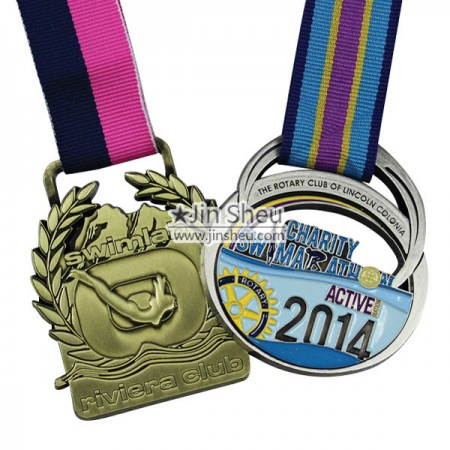 Custom made sports medal