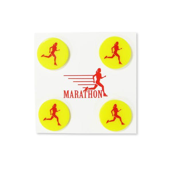 Marathon Race Bib Clips