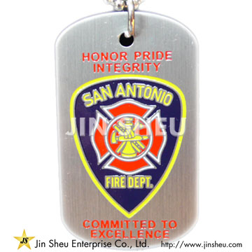 Firefighter Pride Dog Tags - Firefighter Pride Dog Tags
