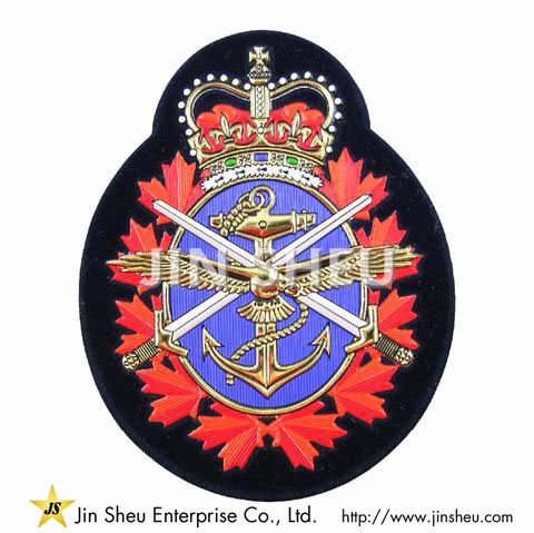 Embossed PVC Patches