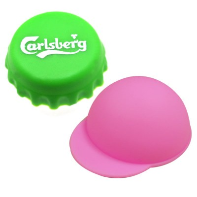 Beverage Silicone Cap - Custom Silicone Bottle Cap and Can Cap