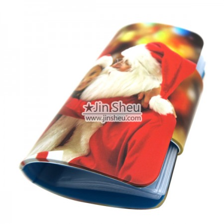 Silicone Business Card Holder - In-mold Printing Silicone Card Holder