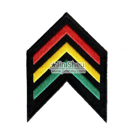 Sergeant Embroidery Patches - Sergeant Rank Patch