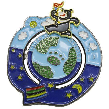 Taipei 2017 Universiade pins