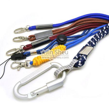 PP cord lanyard - Custom made lanyard cord