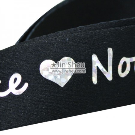 Hot Glittering Silver stamping Lanyards