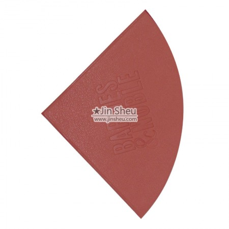 Sector Shape Corner Bookmark - Sector PU leather corner bookmarks