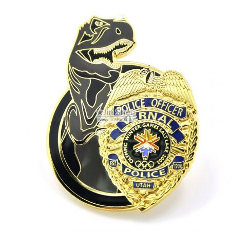 Custom Police Lapel pins - Personalized miniature police badges