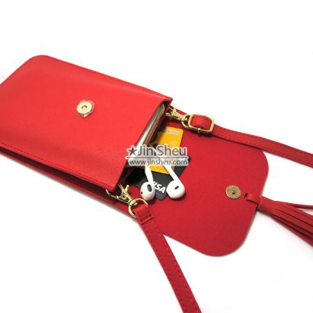 PU leather fashion phone bags