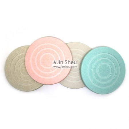 promotional round diatomite coasters