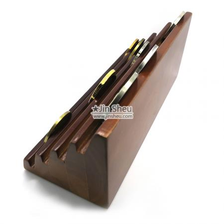 army coin wood display stand
