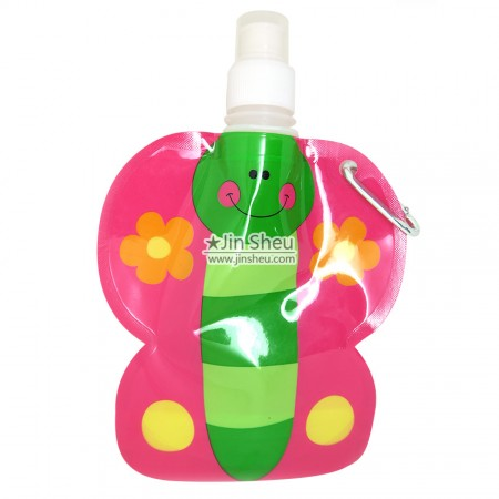 Butterfly Collapsible Water Bottles