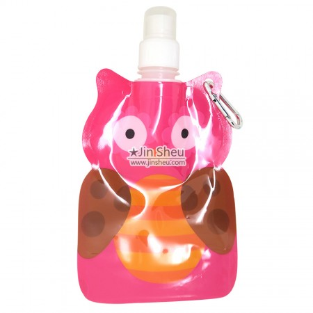 Owl Collapsible Water Bottles