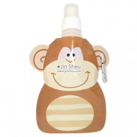 Monkey Collapsible Water Bottles