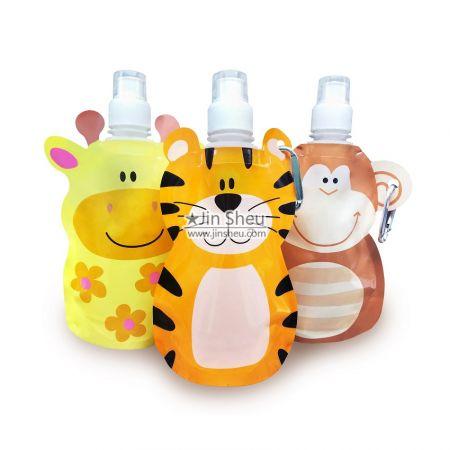 Foldable Water Bottle - Kindergarten gift water bottles