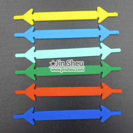 A) No Tie Shoelace - silicone no tie shoelaces