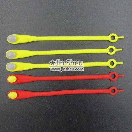 B) Lazy Shoelace - silicone lazy shoelaces