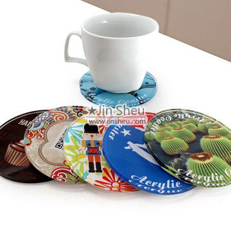 Acrylic Drink Coasters - Acrylic Coasters
