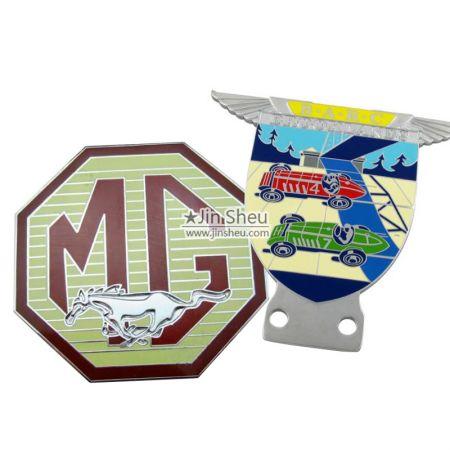 Car Emblems - Custom Made Metal Car Badge Emblems