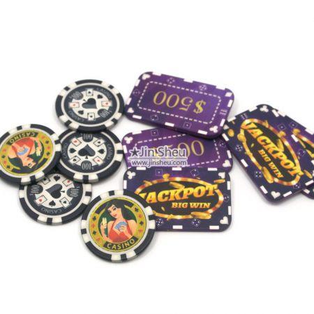 bulk ceramic poker tokens