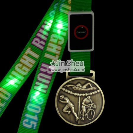 Medals with Neck Ribbons - Custom made sports medal