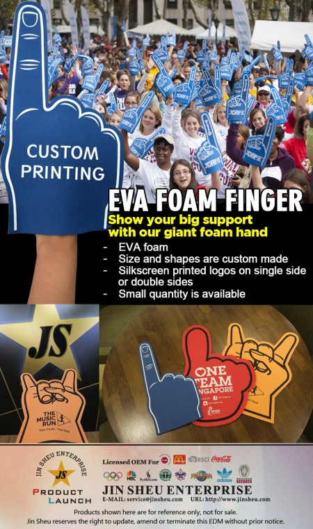 Cheering EVA Foam Finger - Cheering EVA Foam Finger