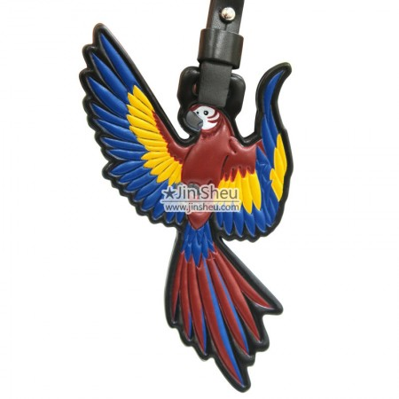 Genuine Leather Parrot Tag - Genuine Leather Parrot Tag