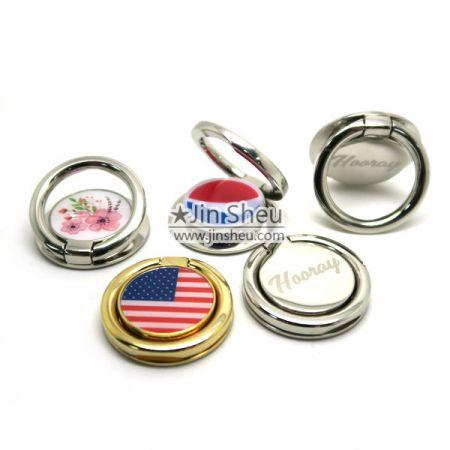 Metal Phone Ring Holder - Metal Phone Ring Holder with Custom Logo