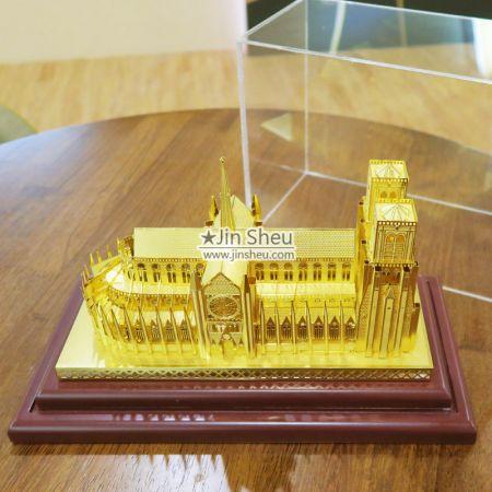 Notre-Dame de Paris Brass Models - Notre-Dame de Paris Models